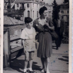 1947. Guardando verso le Gallerie dell'Accademia